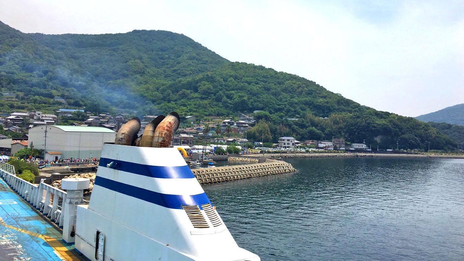 坐渡輪享受香川一日遊!吃遍美味讚岐烏龍麵!