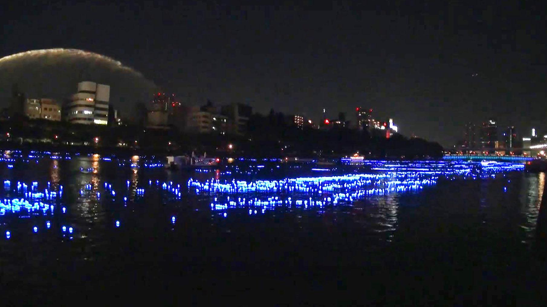 陸地上出現了銀河!?目睹大阪一年一度的銀河傳說!