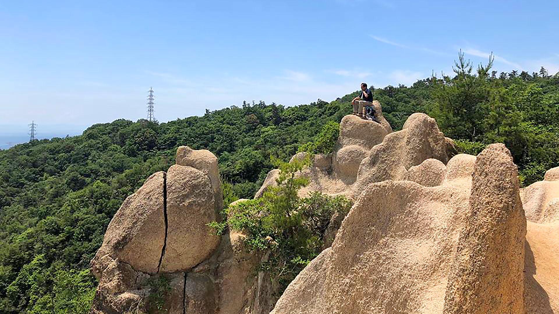 如土耳其卡帕多奇亞一樣的岩山奇景,就在兵庫縣蘆屋的Rock Garden