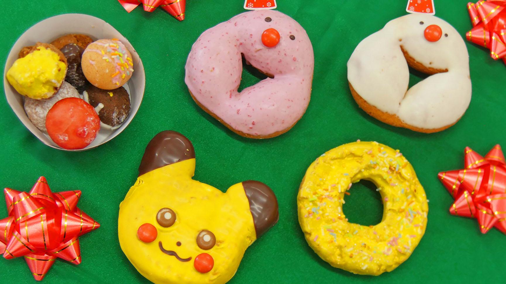 聖誕節到日本Mister Donut尋找精靈寶可夢!期間限定皮卡丘甜甜圈超吸晴