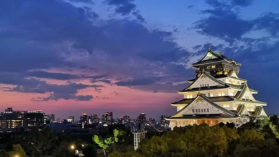 天守閣就在眼前!?望眼絕景的大阪城隱藏餐廳
